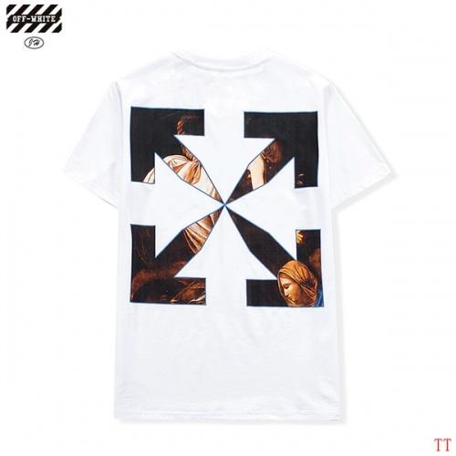 Off-White T-Shirts Short Sleeved O-Neck For Men #811661