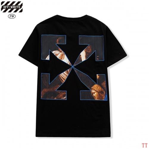 Off-White T-Shirts Short Sleeved O-Neck For Men #811662