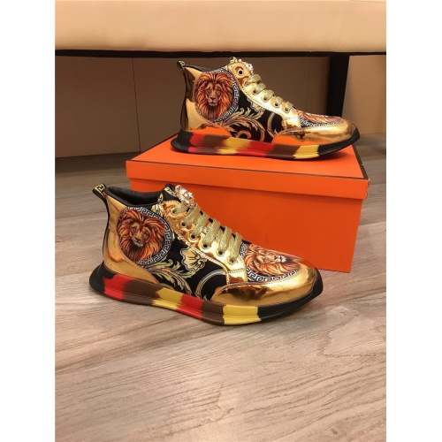 Versace High Tops Shoes For Men #811682