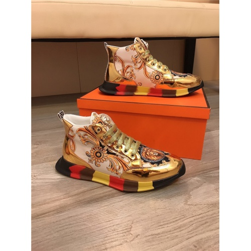Versace High Tops Shoes For Men #811683