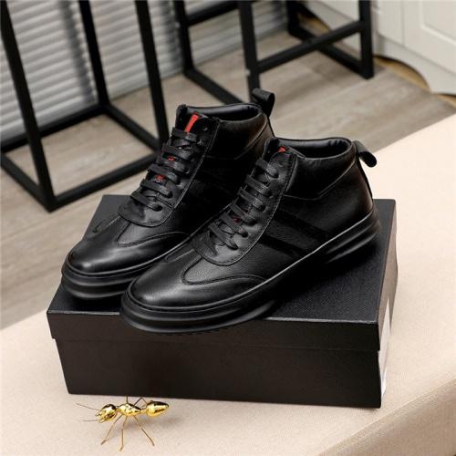 Prada High Tops Shoes For Men #811684