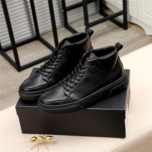 Prada High Tops Shoes For Men #811685