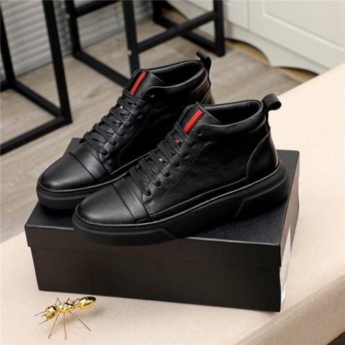 Prada High Tops Shoes For Men #811686