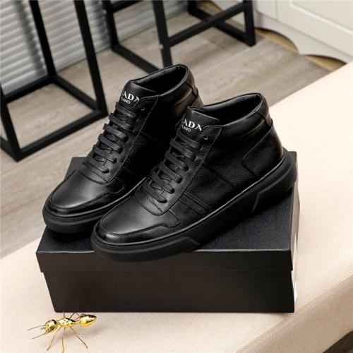 Prada High Tops Shoes For Men #811687