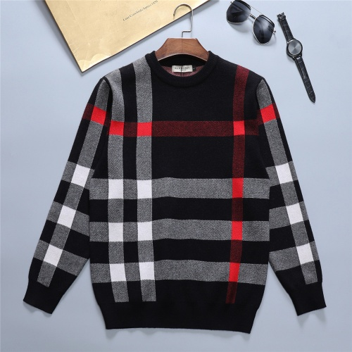 Burberry Sweaters Long Sleeved O-Neck For Men #811762