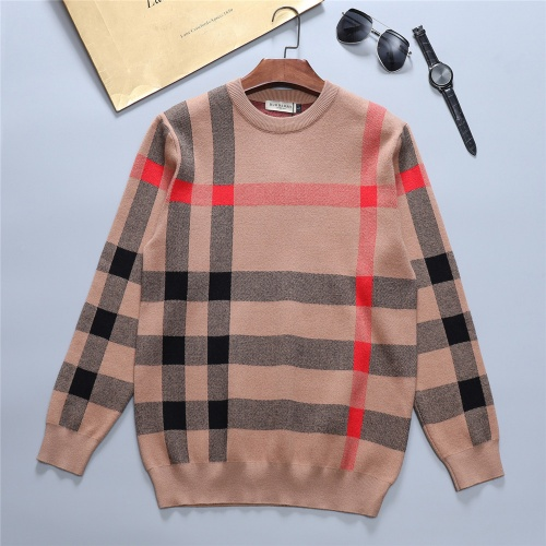 Burberry Sweaters Long Sleeved O-Neck For Men #811763
