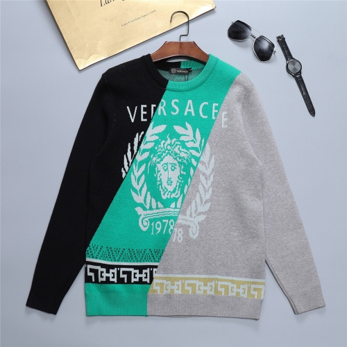 Versace Sweaters Long Sleeved O-Neck For Men #811764