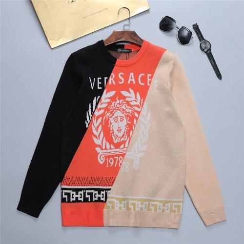 Versace Sweaters Long Sleeved O-Neck For Men #811765