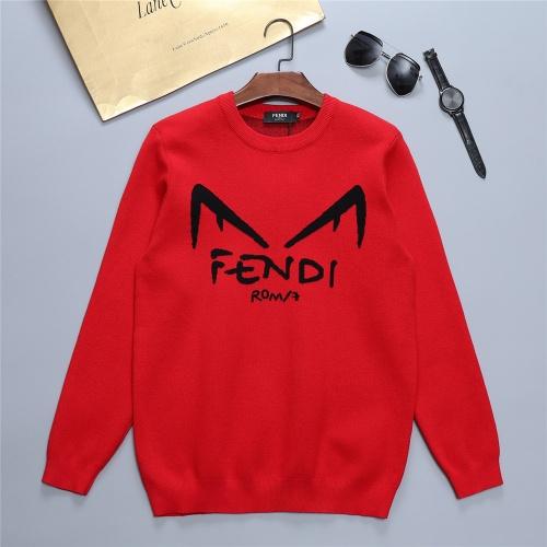 Fendi Sweaters Long Sleeved O-Neck For Men #811767