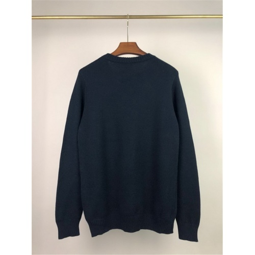 Replica Alexander McQueen Sweater Long Sleeved O-Neck For Men #811776 $45.00 USD for Wholesale
