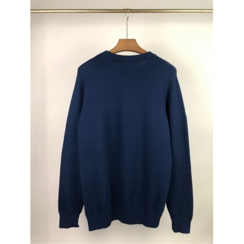 Replica Alexander McQueen Sweater Long Sleeved O-Neck For Men #811777 $45.00 USD for Wholesale