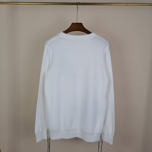 Replica Alexander McQueen Sweater Long Sleeved O-Neck For Men #811778 $45.00 USD for Wholesale