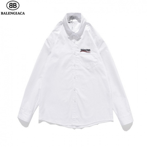 Balenciaga Shirts Long Sleeved Polo For Men #811796 $41.00 USD, Wholesale Replica Balenciaga Shirts