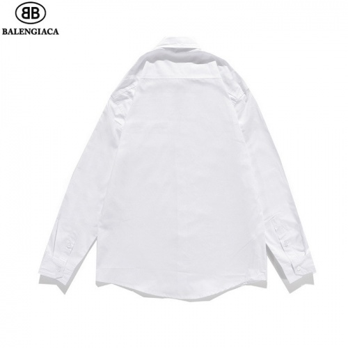 Replica Balenciaga Shirts Long Sleeved Polo For Men #811796 $41.00 USD for Wholesale