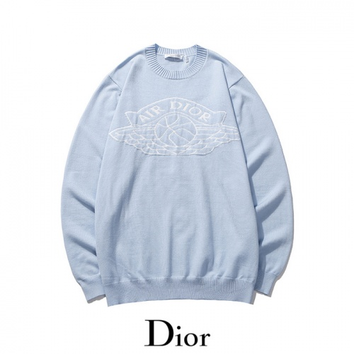 Christian Dior Sweaters Long Sleeved O-Neck For Men #811805