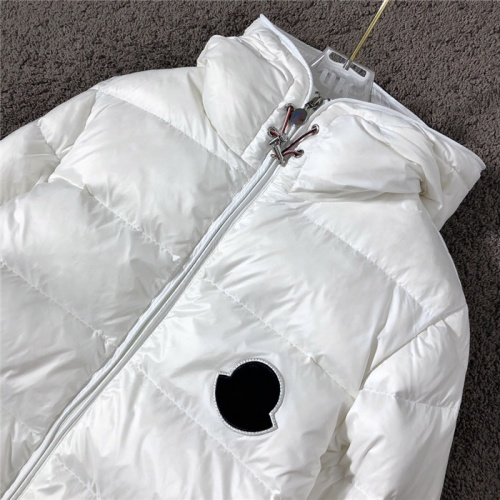 Replica Moncler Down Feather Coat Long Sleeved Zipper For Men #811868 $172.00 USD for Wholesale