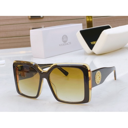 Versace AAA Quality Sunglasses #811880 $54.00 USD, Wholesale Replica Versace AAA+ Sunglasses