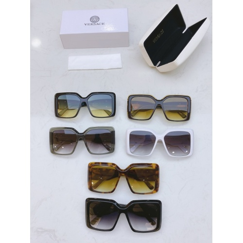 Replica Versace AAA Quality Sunglasses #811880 $54.00 USD for Wholesale