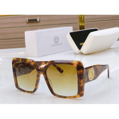 Versace AAA Quality Sunglasses #811881 $54.00, Wholesale Replica Versace AAA+ Sunglasses