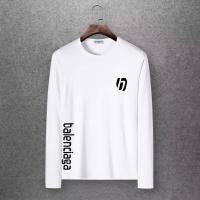 $27.00 USD Balenciaga T-Shirts Long Sleeved O-Neck For Men #808468