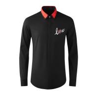 Armani Shirts Long Sleeved Polo For Men #808999
