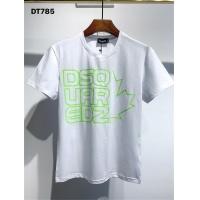 $25.00 USD Dsquared T-Shirts Short Sleeved O-Neck For Men #810040