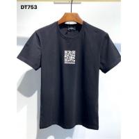 $25.00 USD Dsquared T-Shirts Short Sleeved O-Neck For Men #810051