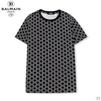 $27.00 USD Balmain T-Shirts Short Sleeved O-Neck For Men #810251