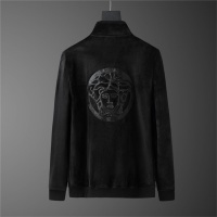 $98.00 USD Versace Tracksuits Long Sleeved Zipper For Men #810577