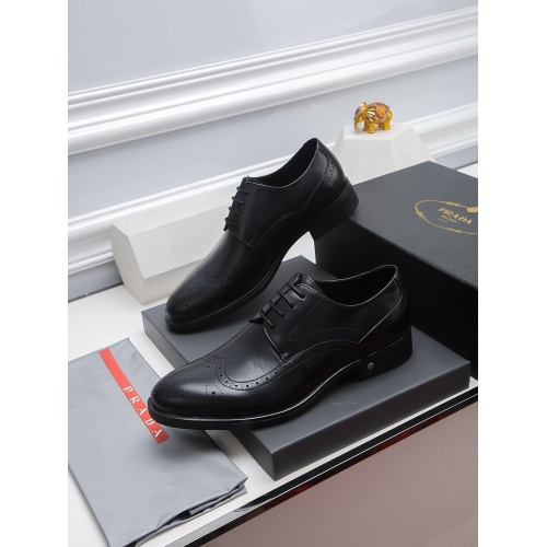 Prada Leather Shoes For Men #811926