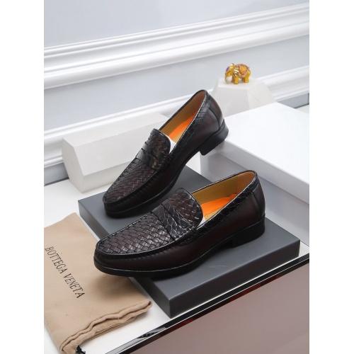 Bottega Veneta BV Leather Shoes For Men #811928
