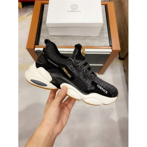 Replica Versace Casual Shoes For Men #811947 $76.00 USD for Wholesale