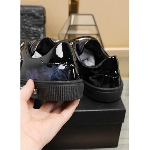 Replica Philipp Plein PP Casual Shoes For Men #811952 $80.00 USD for Wholesale