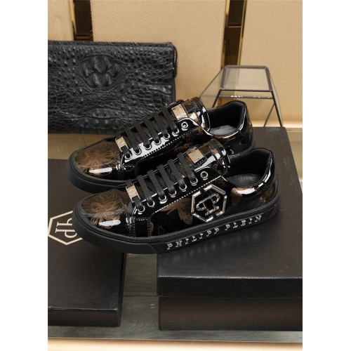 Replica Philipp Plein PP Casual Shoes For Men #811953 $80.00 USD for Wholesale