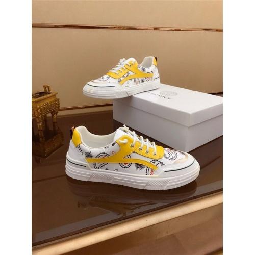 Versace Casual Shoes For Men #812055 $76.00 USD, Wholesale Replica Versace Casual Shoes