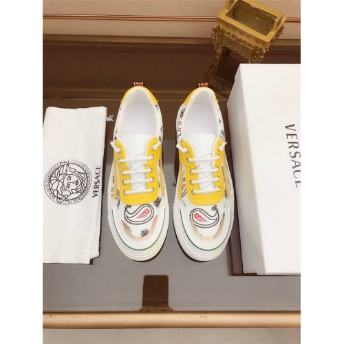 Replica Versace Casual Shoes For Men #812055 $76.00 USD for Wholesale