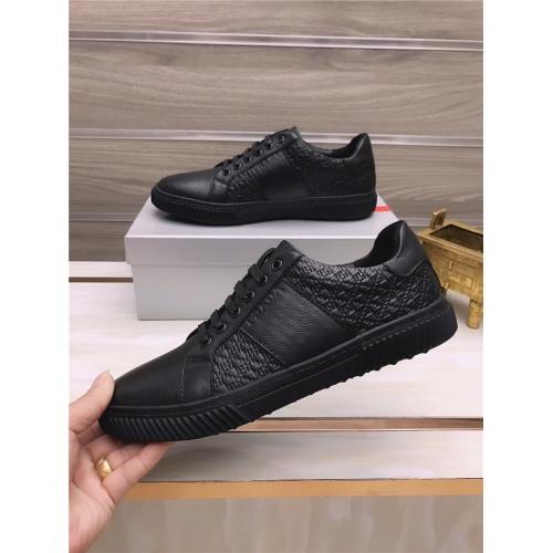 Replica Prada Casual Shoes For Men #812082 $80.00 USD for Wholesale