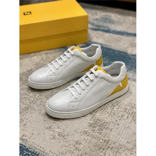 Fendi Casual Shoes For Men #812099