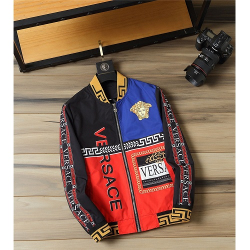Versace Jackets Long Sleeved For Men #812123 $48.00 USD, Wholesale Replica Versace Jackets