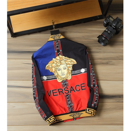 Replica Versace Jackets Long Sleeved For Men #812123 $48.00 USD for Wholesale
