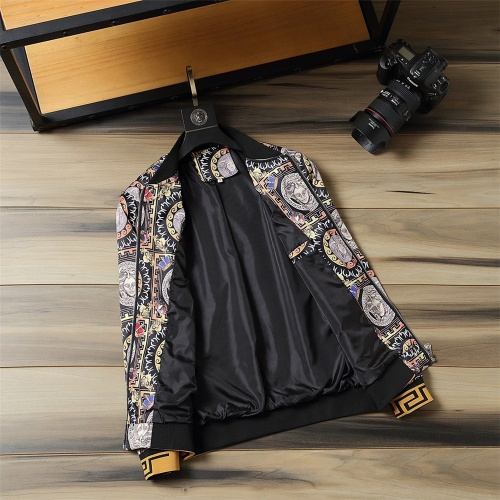 Replica Versace Jackets Long Sleeved For Men #812124 $48.00 USD for Wholesale