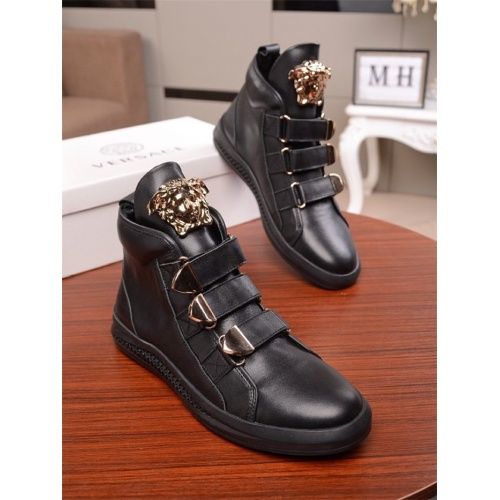 Versace High Tops Shoes For Men #812240