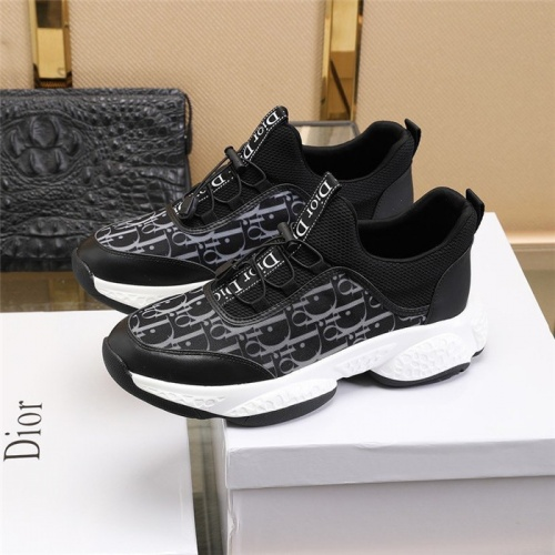 Replica Christian Dior Casual Shoes For Men #812255 $82.00 USD for Wholesale