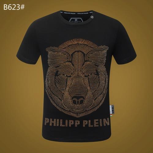 Philipp Plein PP T-Shirts Short Sleeved O-Neck For Men #812337