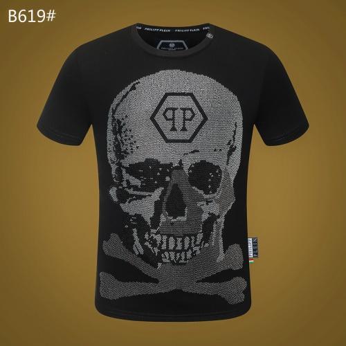 Philipp Plein PP T-Shirts Short Sleeved O-Neck For Men #812339