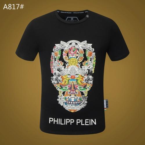 Philipp Plein PP T-Shirts Short Sleeved O-Neck For Men #812345