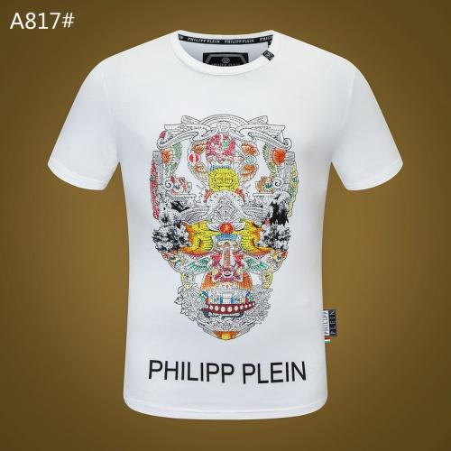 Philipp Plein PP T-Shirts Short Sleeved O-Neck For Men #812346