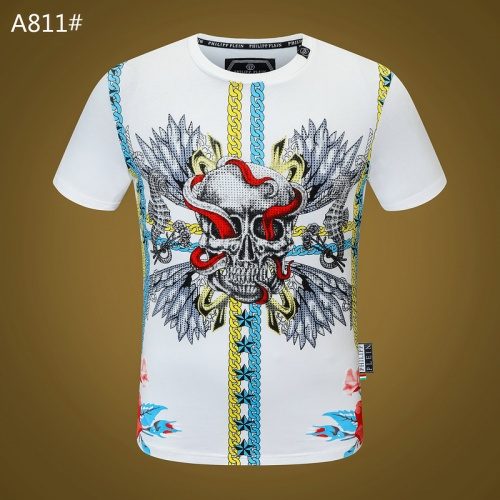 Philipp Plein PP T-Shirts Short Sleeved O-Neck For Men #812349