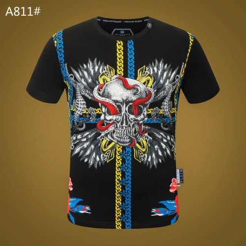 Philipp Plein PP T-Shirts Short Sleeved O-Neck For Men #812350
