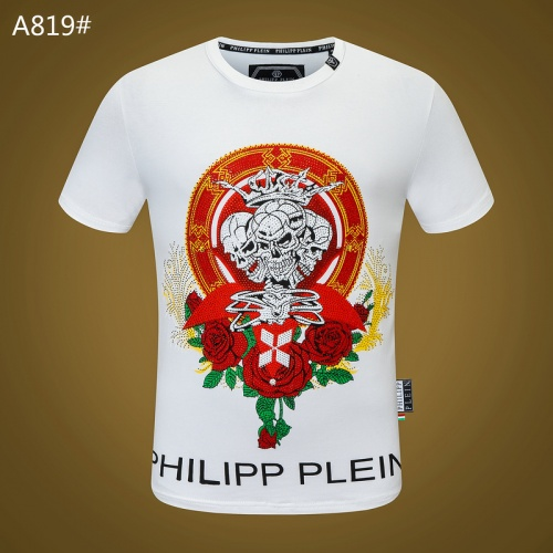 Philipp Plein PP T-Shirts Short Sleeved O-Neck For Men #812351